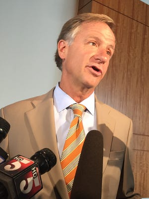 Gov. Bill Haslam told reporters Monday that Britain's historic vote to exit the European Union could have repercussions for Tennessee.
