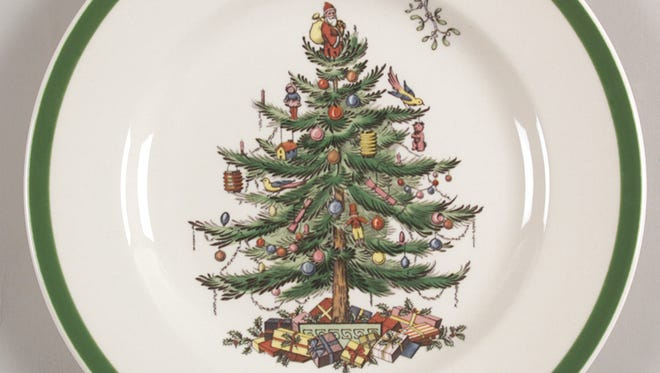 Christmas Tree by Spode is Replacements, Ltd.'s most popular holiday pattern.