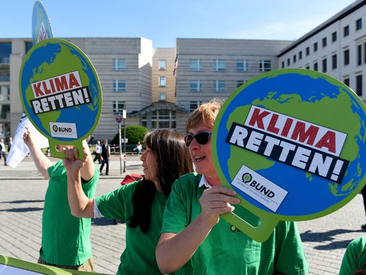 AP GERMANY EUROPE CLIMATE GLOBAL REACTION I DEU