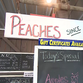 Peach stand in York County