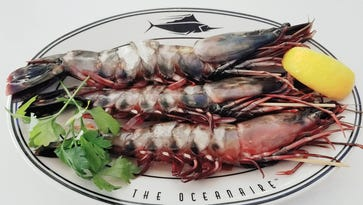 $32 per prawn at Oceanaire in Hackensack
