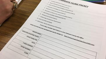 Filings for election candidates continue
