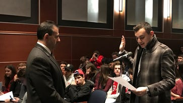 Ramapo Indian Hills' new school board member is 20-year-old college student Thomas Rukaj