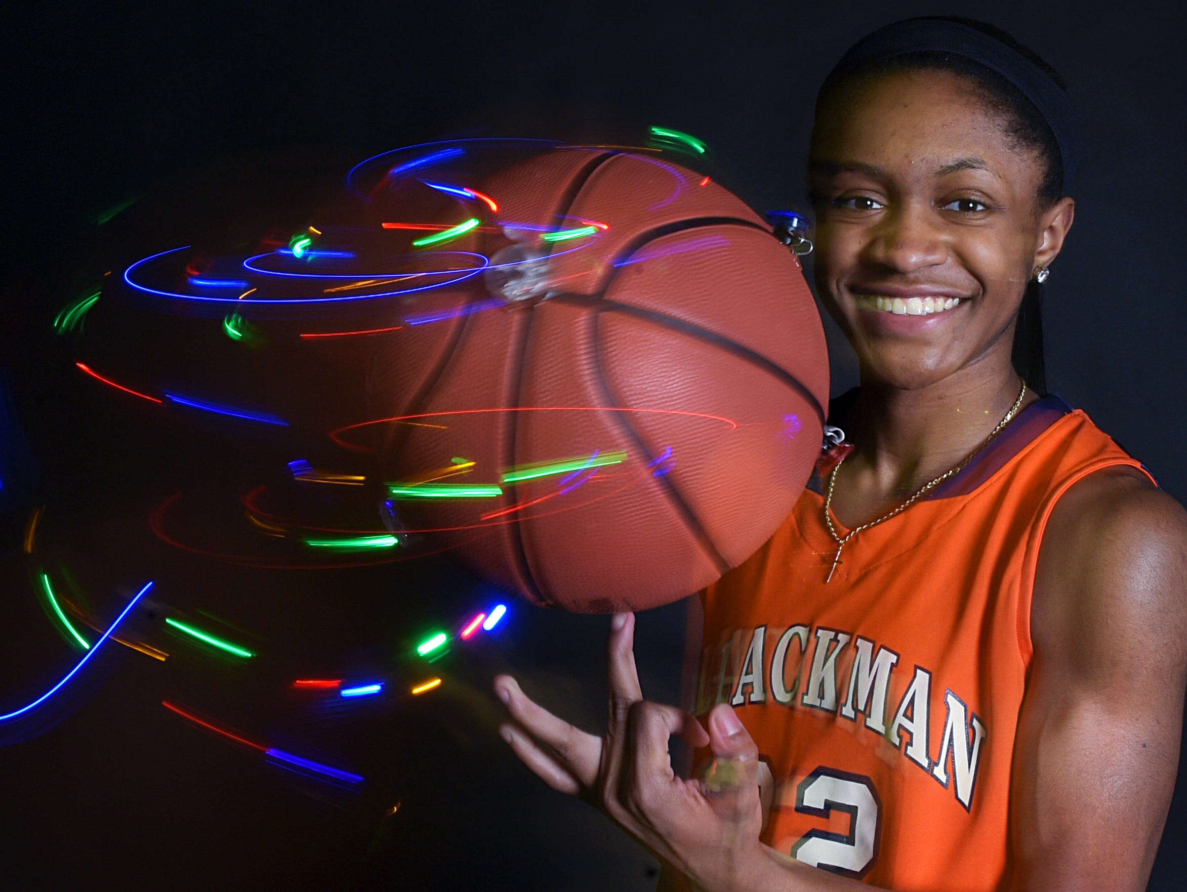 All-Midstate Basketball Player of the Year: Crystal Dangerfield (Blackman).