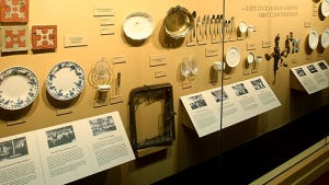 """Items are displayed in the """"Titanic: The Artifact Exhibition"""" that is traveling to eastern New Mexico this year."""