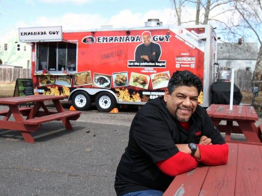 Carlos Serrano, a.k.a. Empanada Guy, is bringing his eighth food truck to Brick next month.