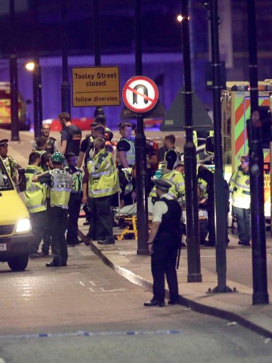 AP BRITAIN LONDON BRIDGE INCIDENT I GBR