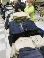 The annual Uniform Swap will be Saturday at Col. John O. Ensor Middle School, 13600 Ryderwood Ave.