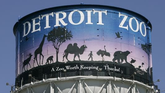 Detroit Zoo Water Tower