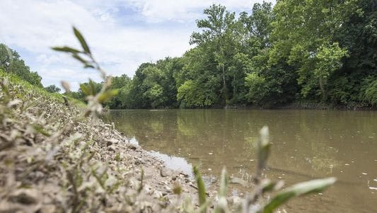 The stormy weather has dumped tons of eroded soil and debris from the surrounding landscape into the White River, concealing food from bass and requiring more chemicals to treat the water for drinking purposes.