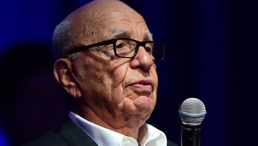 Rupert Murdoch tweeted that Tribune will sell its newspaper group.