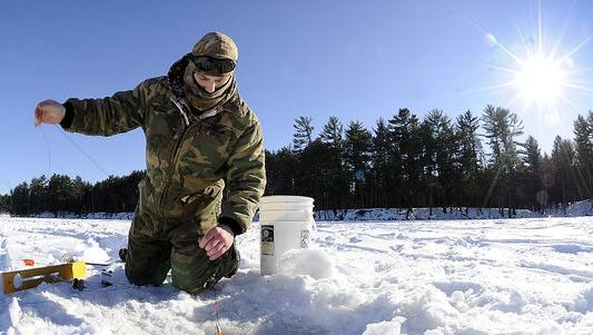 Domtar Corporation is allowing access from its property for ice fishing in Nepko Lake through Feb. 29.
