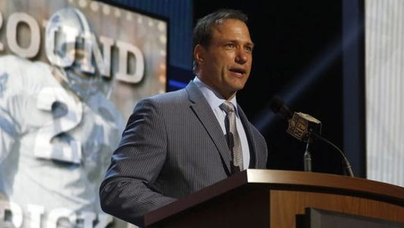 Former Ohio State All-American Chris Spielman said