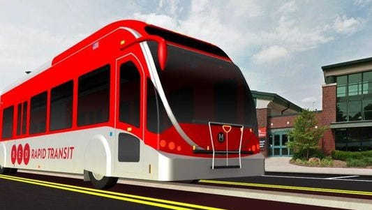 The Red Line proposed on College Avenue.
