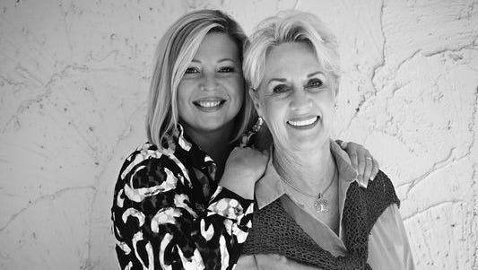 Lisa Smith and Judy Vossler