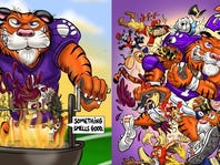 Clemson Game Day Posters