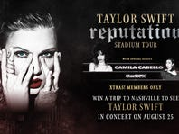 Win a Trip to the Taylor Swift reputation Stadium Tour