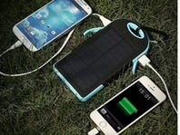 Water-Resistant Dual-USB Solar Charger