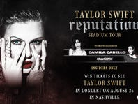 Win Tickets to the Taylor Swift reputation Stadium Tour