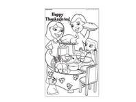 kansas state thanksgiving coloring pages - photo#14