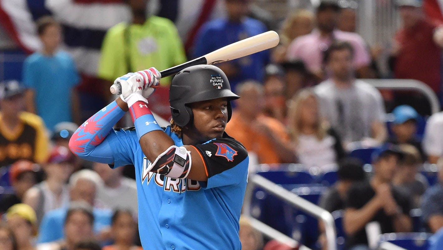 MIAMI – Vladimir Guerrero Jr. does not have much recollection of his  father s exploits in the nine All-Star Games he was invited to 9b1199a741ae