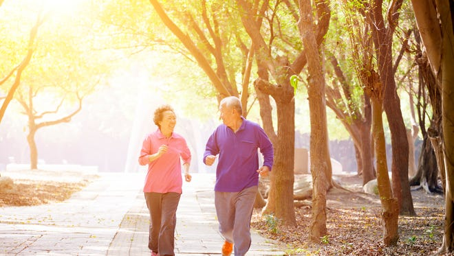Regardless of your age, you can start a running program.