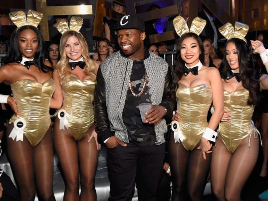 The Playboy Party during Super Bowl Weekend