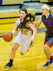 Jackie Jarvis (22) had 23 points for Fowlerville in