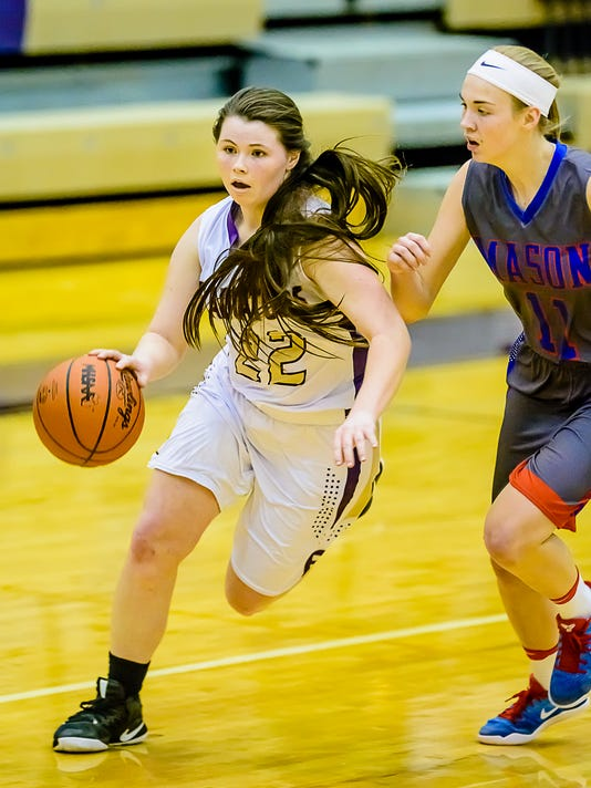 Mason vs Fowlerville Girl's Basketball