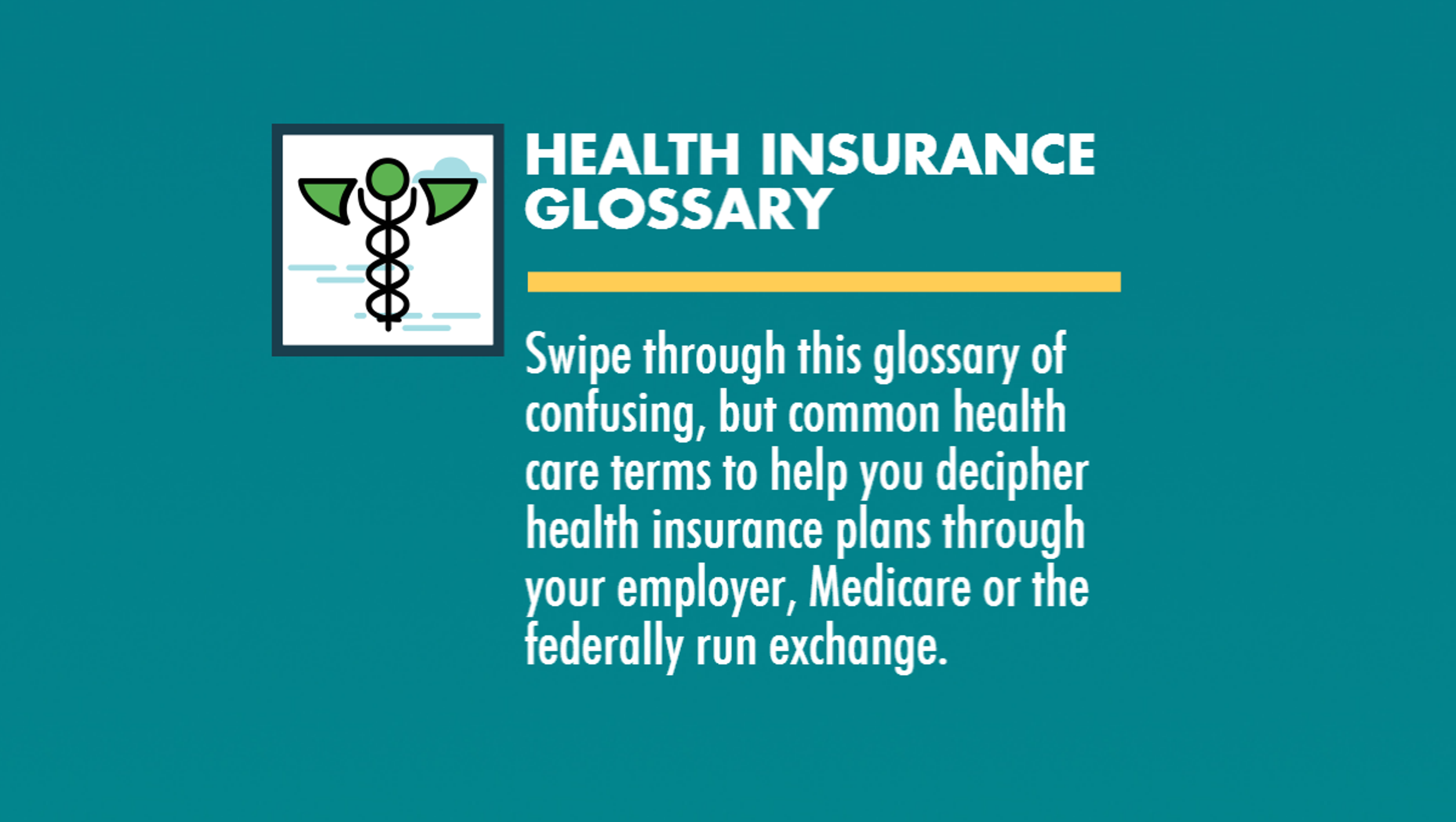 Decoding health insurance plans: A dictionary