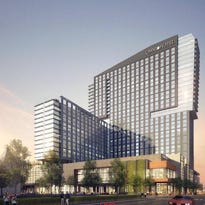 Courtesy: HKS architectural teamA rendering of the new Omni Hotel and Residences in downtown Louisville