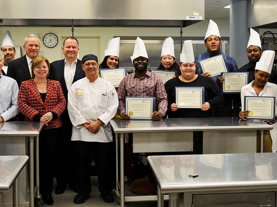 WPWDB Culinary training graduation