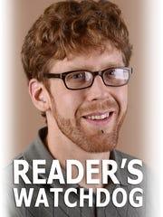 Reader's Watchdog reporter John Hult