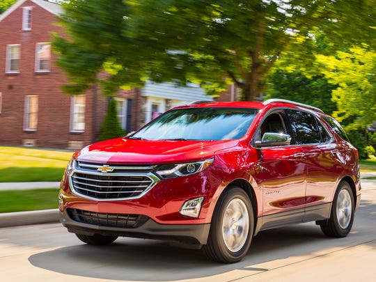 This photo provided by Chevrolet shows the 2018 Chevrolet