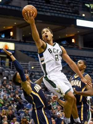 Bucks rookie guard Malcolm Brogdon's preseason performance has him in line for playing time off the bench this season.