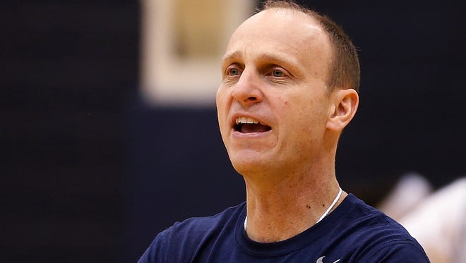 Brian Neal is in his second year at the helm of Xavier's women's hoops program.