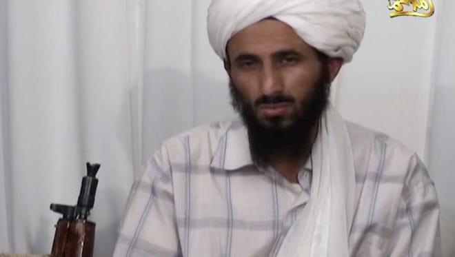 Al-Malahim Media Foundation, the media arm of al-Qaida in the Arabian Peninsula, with a man identified as Nasser al-Wahishi.
