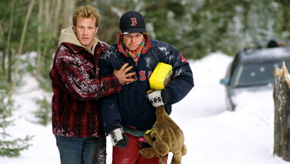Thomas Jane, left, and Donnie Wahlberg are lifelong