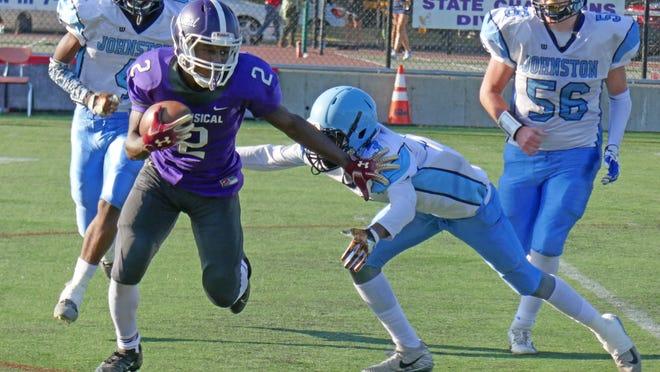 Classical's Samuel Baddoo has been one of the top high school football players in Rhode Island the last two seasons. Tuesday he made his college decision, verbally committing to Brown University.