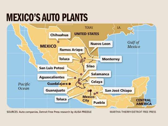 Mexico's auto plants