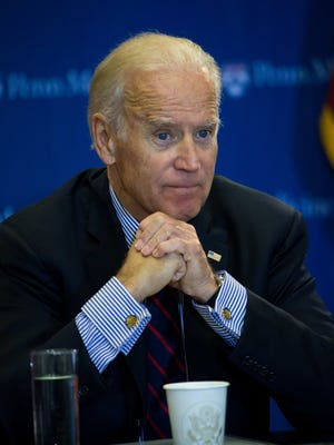 Vice President Joe Biden on Friday speaks at the University of Pennsylvania School of Medicine in Philadelphia about his initiative to find a cure for cancer. President Barack Obama during his State of the Union speech on Tuesday said Biden was being put in charge of the task.