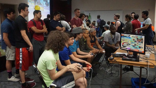 Smash 4 Charity drew a large crowd and raised $1,600 for Child's Play Charity.