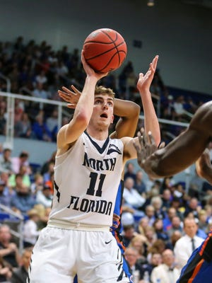 """I learned how much of a grind college basketball is, how much work really goes into it,"" says Westview graduate and North Florida guard Garrett Sams."