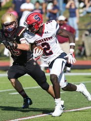 The kickoff time for the Stepinac-Iona Prep game this coming Saturday was moved up to 6 p.m. It will be the 70th meeting between the two Catholic league rivals.