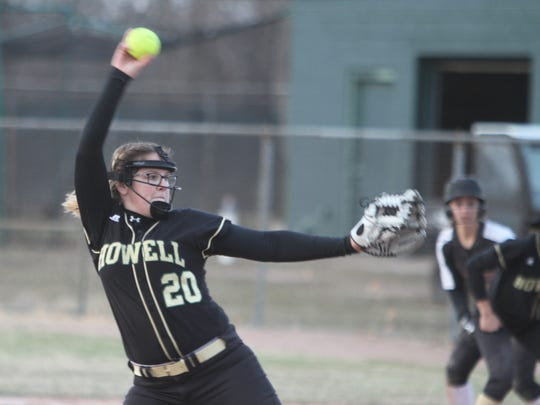 Molly Carney pitched Howell into the regional championship game as a freshman last season.