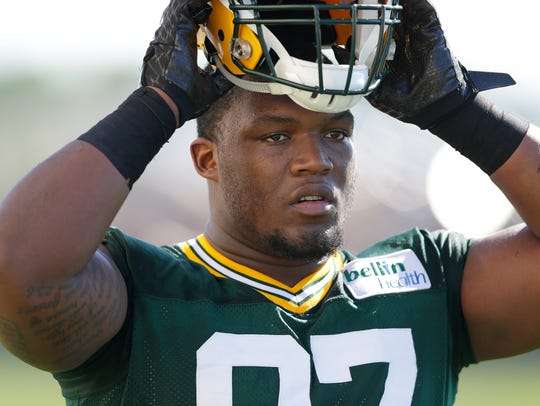 Packers defensive end Kenny Clark, a first-round pick in 2016, is now the team's best defensive lineman.