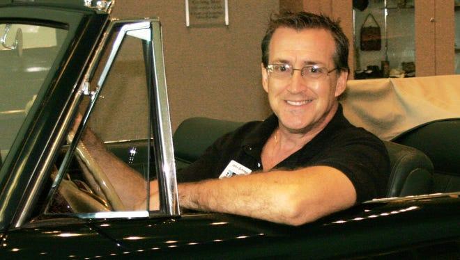 Elliott Museum Associate Car Curator John Giltinan