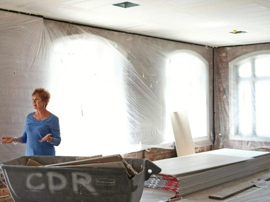 Gayle Caldarazzo-Doty hopes her project drives others to invest in downtown Salem<137>, Aug. 7, 2014<137>.