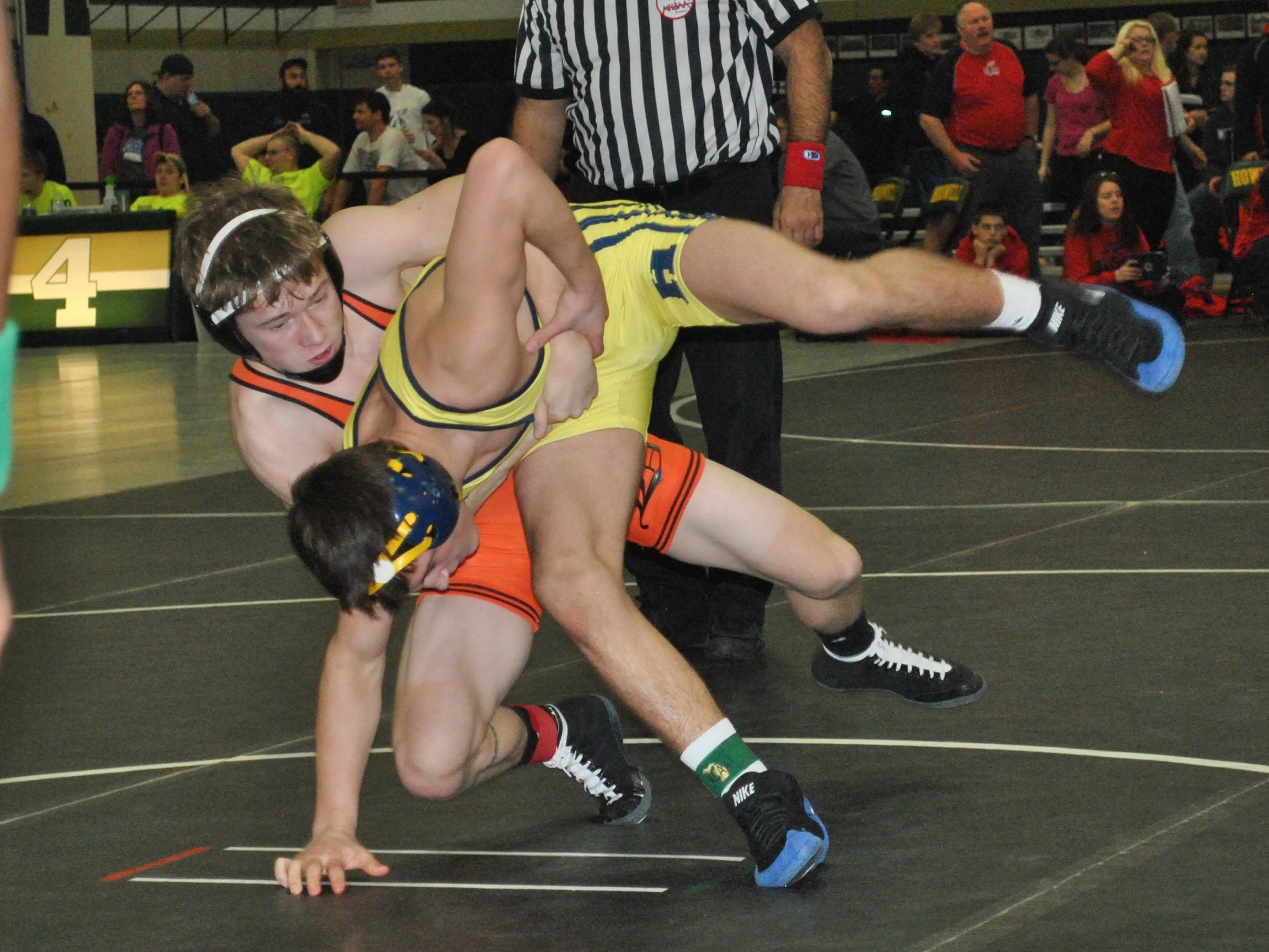 Kyle Bohnsack was on the last Brighton team to reach the state finals in 2012. He'll head back with his teammates in his senior year after beating Holt to win a regional title Wednesday.