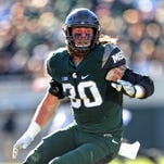 Michigan State LB Byron Bullough focused on making name for himself